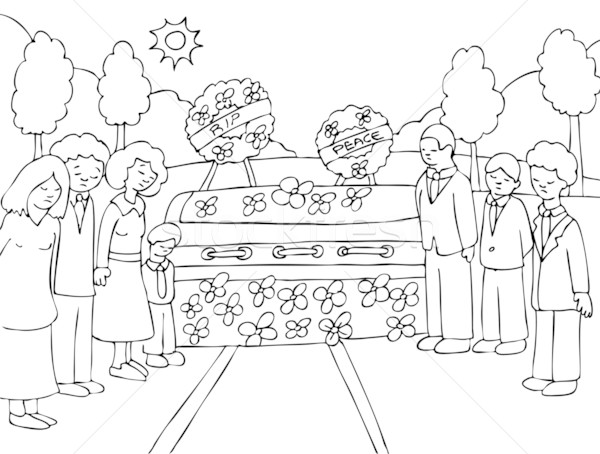 Funeral Service Stock photo © cteconsulting