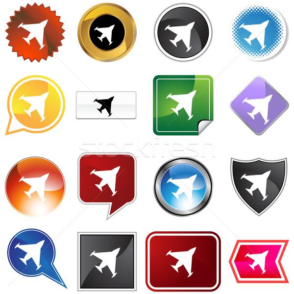 Fighter Jet Stock photo © cteconsulting