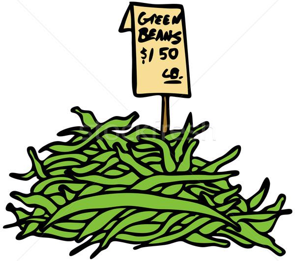 Green Beans Stock photo © cteconsulting