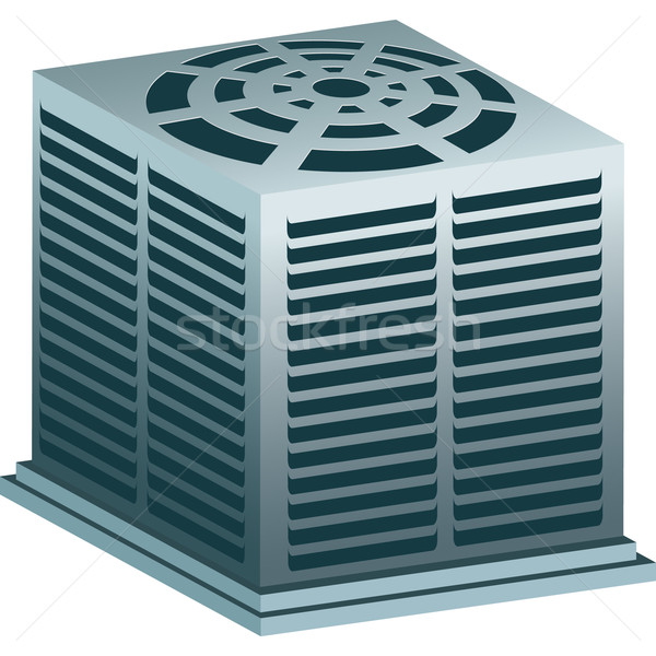Air Conditioner Unit Stock photo © cteconsulting