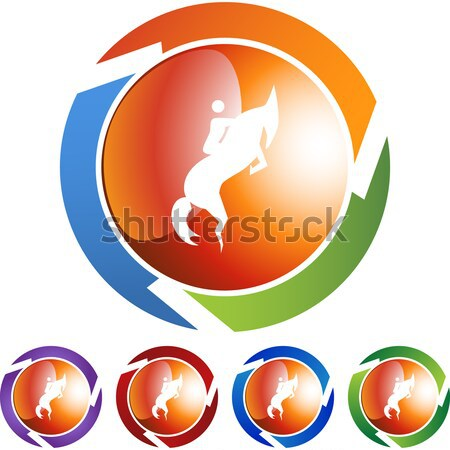 Dancing People Crystal Icon Stock photo © cteconsulting