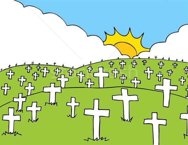 Cemetery Stock photo © cteconsulting