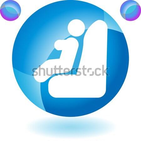 Jetpack Man Icon Stock photo © cteconsulting