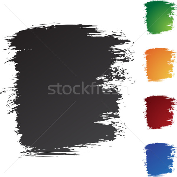 Square Brushstrokes Stock photo © cteconsulting