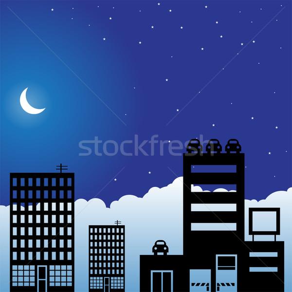 Night Skyline Stock photo © cteconsulting