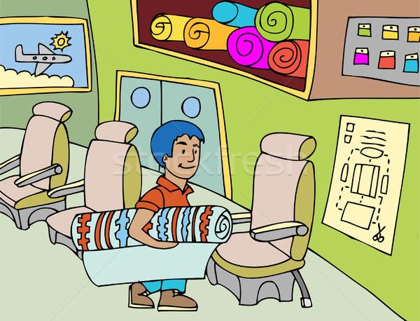 Seat Upholsterer Stock photo © cteconsulting