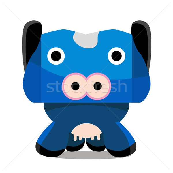 Cow Cartoon Character Stock photo © cteconsulting