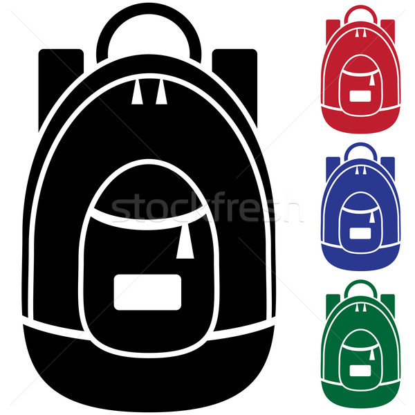 Backpack Stock photo © cteconsulting