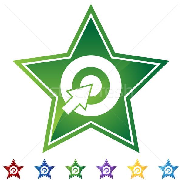 Star Set - Bullseye Stock photo © cteconsulting