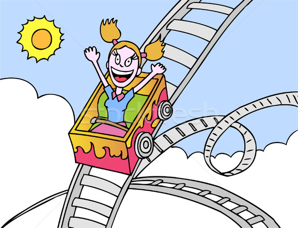 Rollercoaster Ride Stock photo © cteconsulting