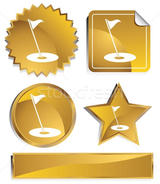 Goldish - Golf Stock photo © cteconsulting