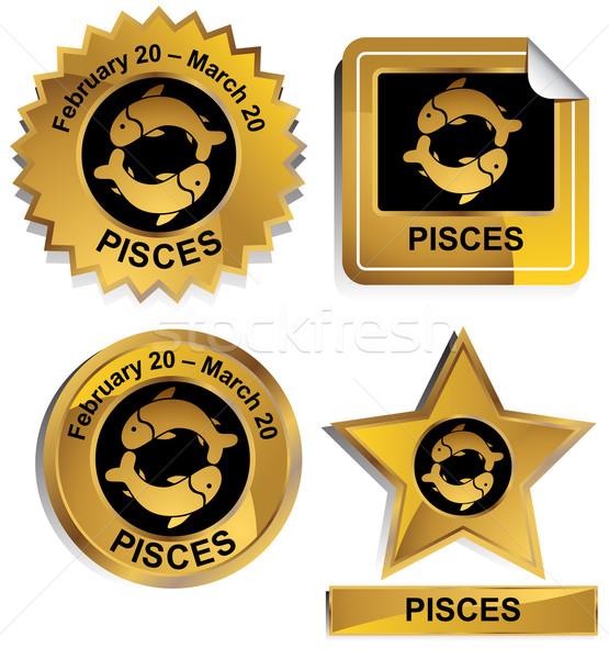 Zodiac - Pisces Stock photo © cteconsulting