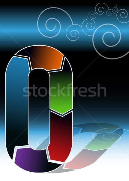 нулевой диаграммы изображение бизнеса дизайна Сток-фото © cteconsulting