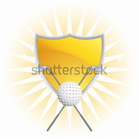 Golfing Icon Stock photo © cteconsulting