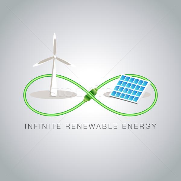 Infinite Renewable Energy Stock photo © cteconsulting