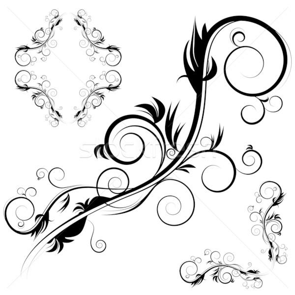 Decorative Antique Flourishes Stock photo © cteconsulting