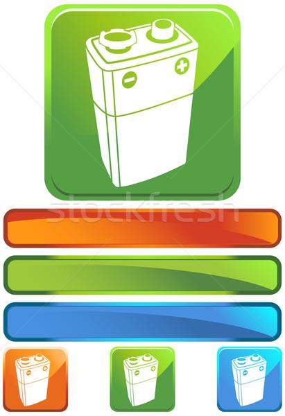 ボルト バッテリー 画像 デザイン 金属 芸術 ストックフォト © cteconsulting