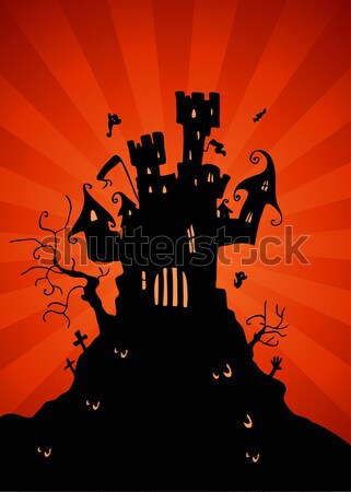 Haunted Mansion Stock photo © cteconsulting