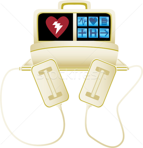 Heart Defibrillator Stock photo © cteconsulting