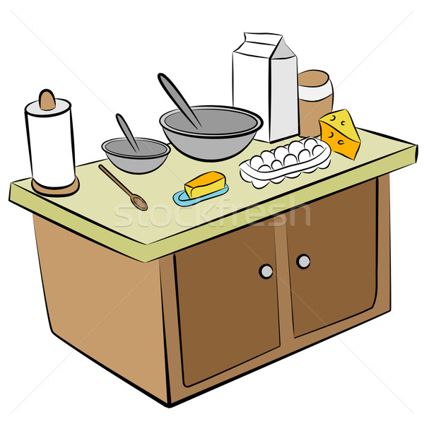 Cooking Tools and Ingredients Stock photo © cteconsulting