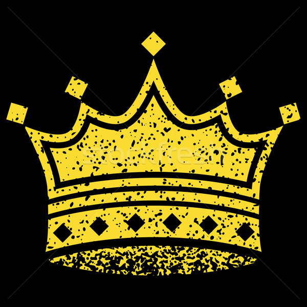 Yellow Crown Stock photo © cteconsulting