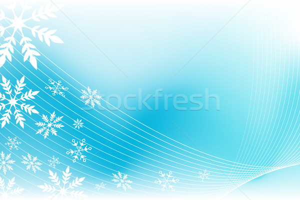 snowflake wind background Stock photo © cteconsulting