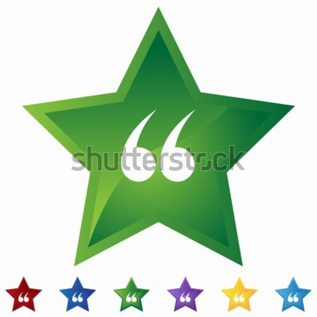 Star Set - Weed Stock photo © cteconsulting