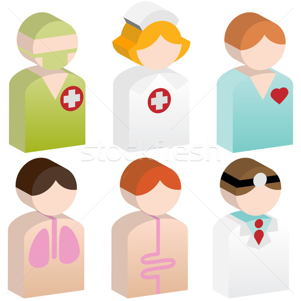 Stock photo: Diversity People - Healthcare