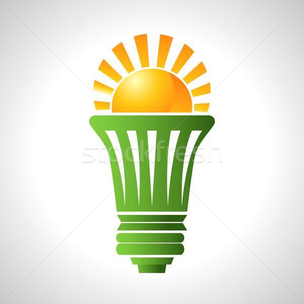 太陽エネルギー 電球 画像 技術 将来 ストックフォト © cteconsulting