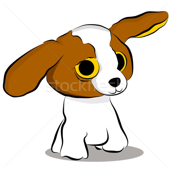 Big Eyed Puppy Dog Stock photo © cteconsulting