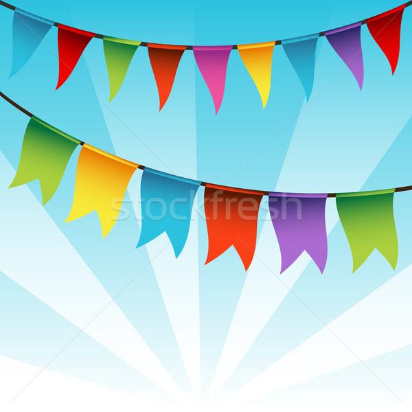 Bunting Flag Decoration Stock photo © cteconsulting