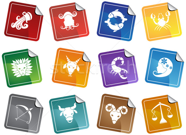 Zodiac Symbols Stock photo © cteconsulting
