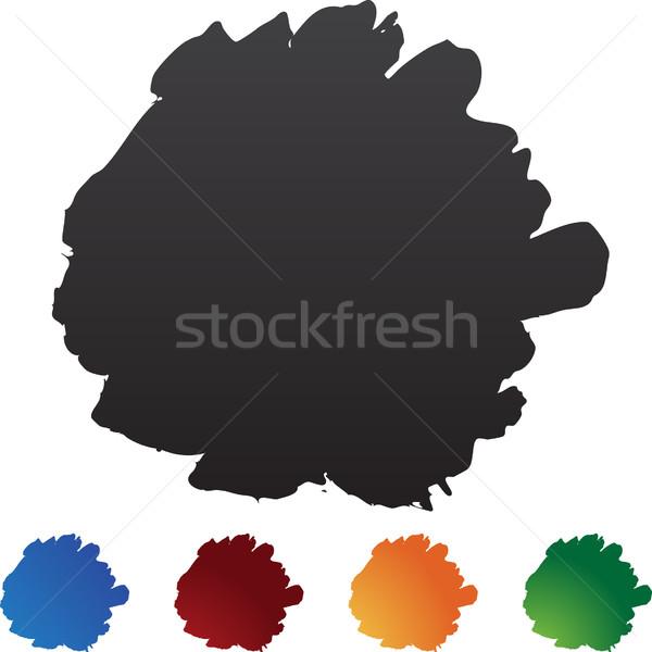 Blotch Brushstrokes Stock photo © cteconsulting