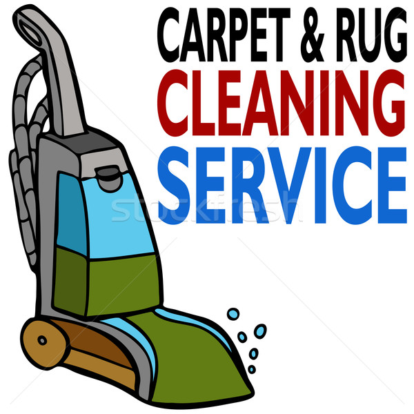 Stock photo: Carpet Cleaning Service