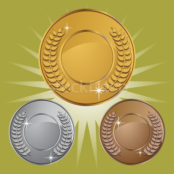 Coin Medals with Background Stock photo © cteconsulting