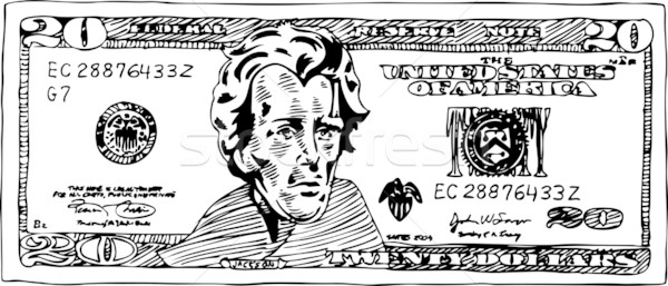 20 Dollar Bill Stock photo © cteconsulting