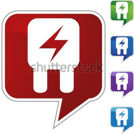 Fuse Crystal Icon Stock photo © cteconsulting