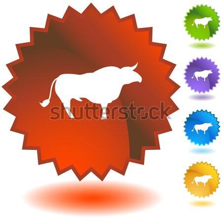 Label - Pisces Stock photo © cteconsulting