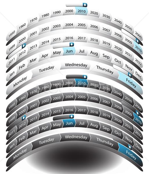 Foto stock: Arco · imagen · estilo · calendario · bar