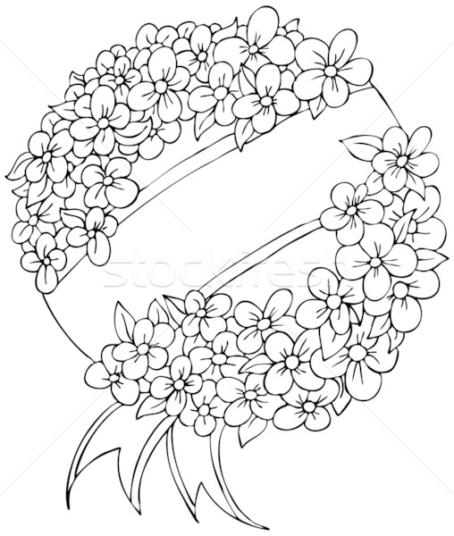 Funeral Wreath Stock photo © cteconsulting