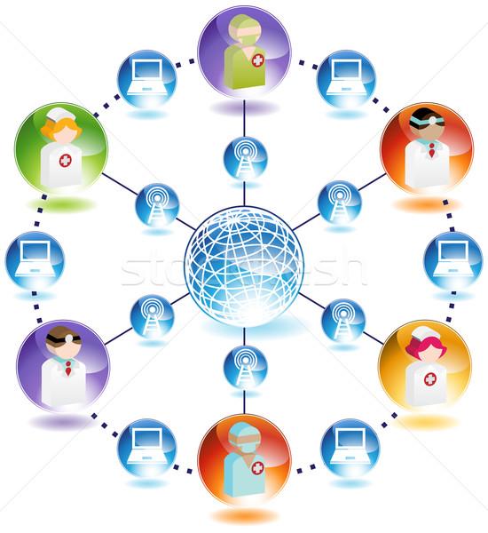 Medical Communication Stock photo © cteconsulting