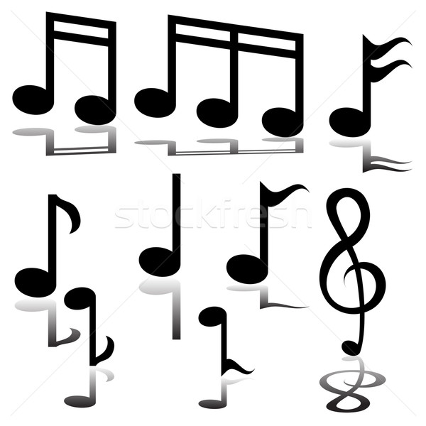 Musical Note Stock photo © cteconsulting