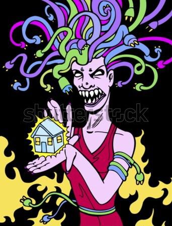Lady Magic Trick Stock photo © cteconsulting