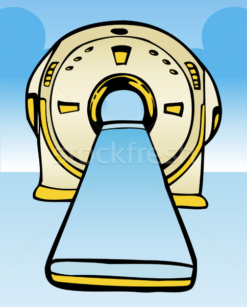Mri macchina magnetico usato medici vedere Foto d'archivio © cteconsulting