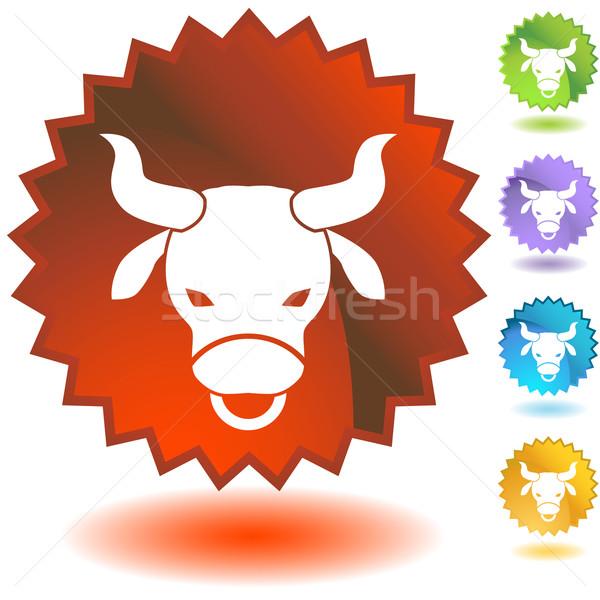 Label - Taurus Stock photo © cteconsulting