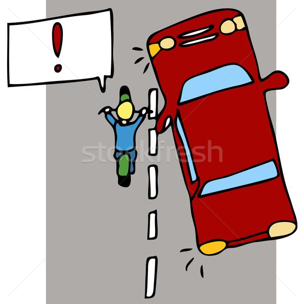 moto accident voiture route v lo dessin illustration vectorielle john takai. Black Bedroom Furniture Sets. Home Design Ideas