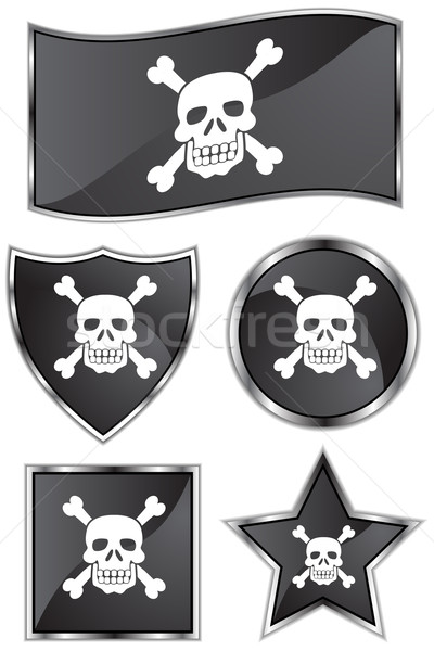 Skull and Crossbones Stock photo © cteconsulting