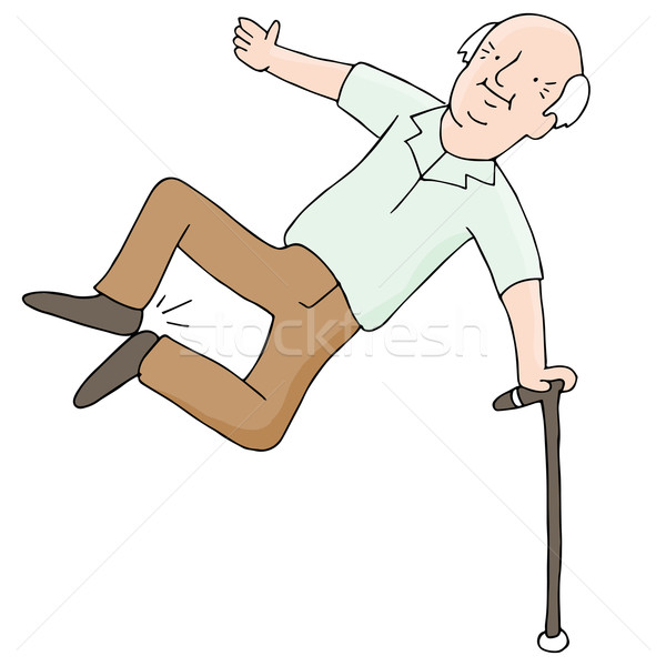 Excited Senior Citizen Stock photo © cteconsulting