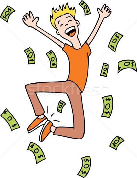 Raining Money Stock photo © cteconsulting