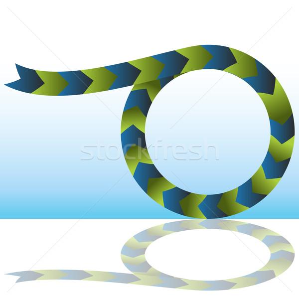 Merging Process Arrow Chart Stock photo © cteconsulting